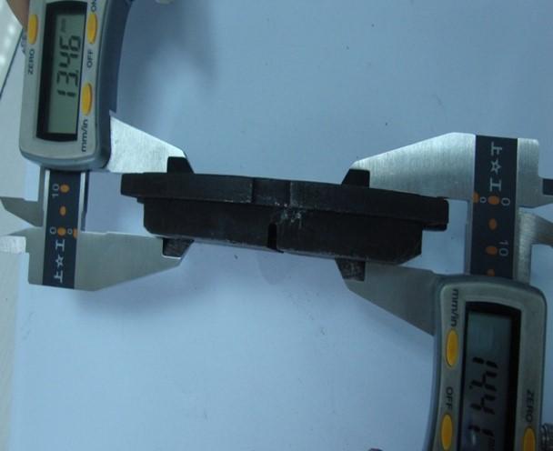 cworks金属型刹车片 鼓式